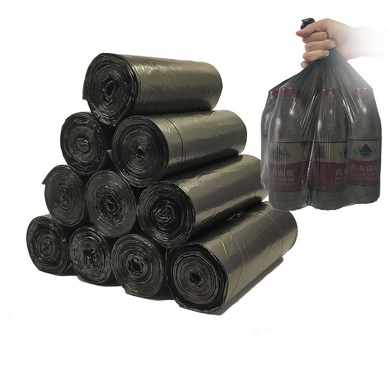 唐家家垃圾袋家用加厚黑色平口厨房一次性中号分类清洁塑料袋包邮