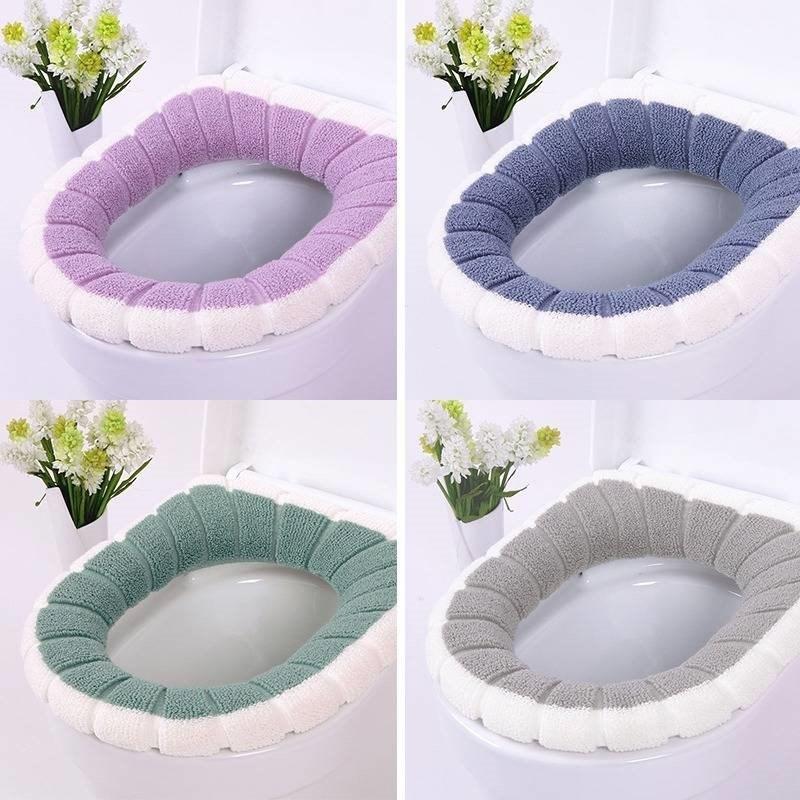 新款家用马桶垫坐垫通用型马桶套加厚保暖坐便套卫生间通用马桶圈