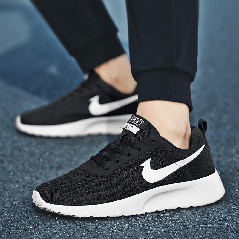 秋季情侣鞋男女鞋冬季跑步鞋百搭青年鞋子减震轻便运动鞋