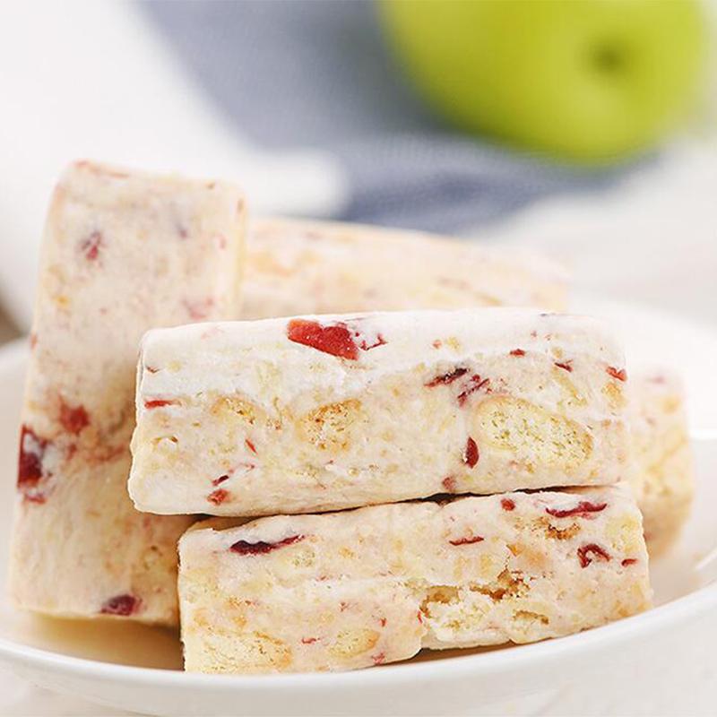 网红办公室零食雪花酥蔓越莓手工糕点牛轧雪酥奶芙蛋糕酥糖沙琪玛