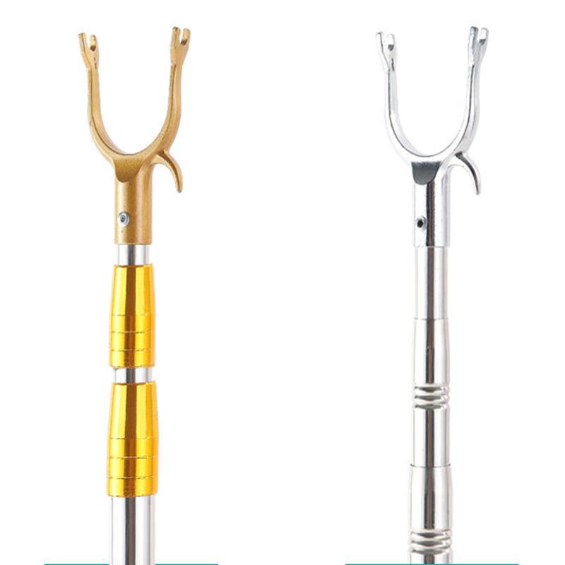 晾衣杆撑衣杆晾衣叉挑衣杆伸缩挑家用晾不锈钢2.5米3米加长衣叉杆
