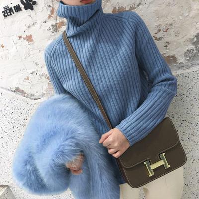 【品牌返场】新款打底衫秋冬宽松加厚慵懒风洋气针织内搭厚毛衣