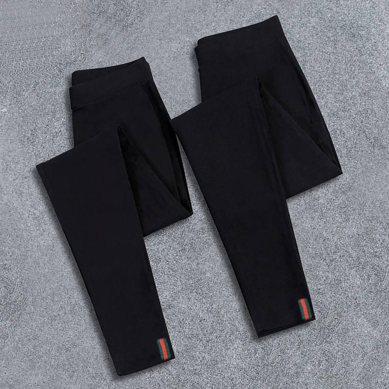【明日涨价】春秋款儿童打底裤加绒加厚中大女童裤铅笔裤外穿长裤