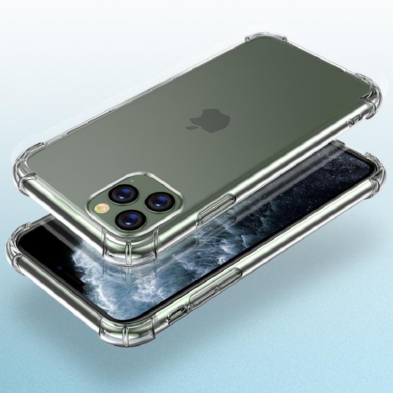 苹果X手机壳透明苹果7/8/6/XR/Xsmax防摔硅胶保护套iPhone11/6plus/7plus女6S个性Xs女男款全包11ProMax软壳