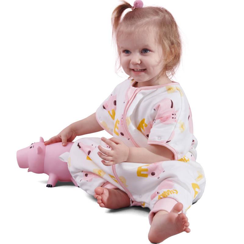 ibaby恒温睡袋春秋睡袋婴儿夏季宝宝分腿睡袋 儿童睡衣薄四季通用