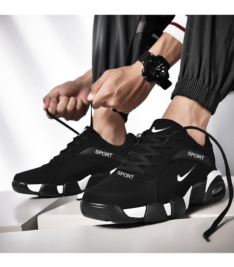 【耐克】当天发货皮面防水运动鞋