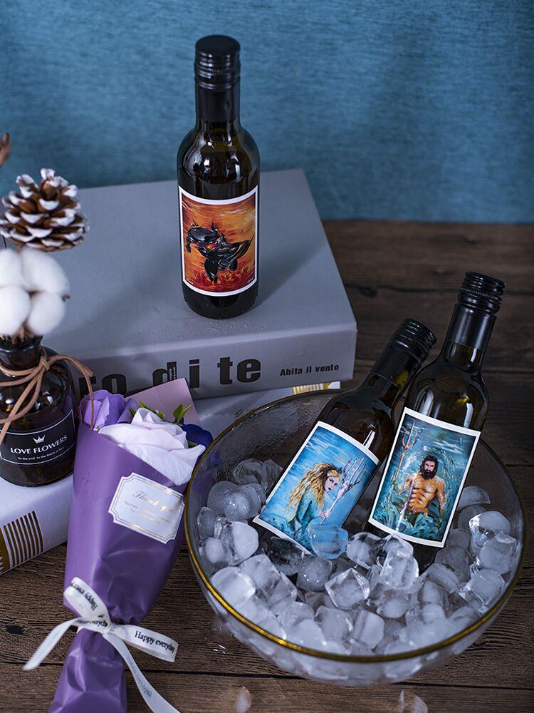 爱龙堡网红酒甜型小瓶白葡萄酒甜酒红酒非起泡酒果酒送回礼礼盒装