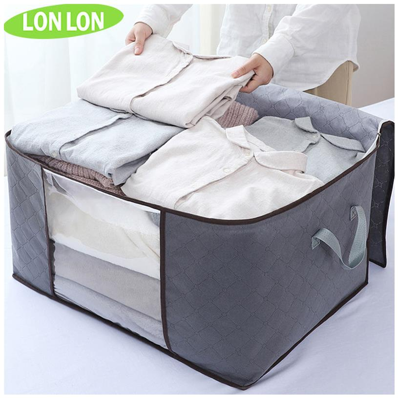 被子衣服收纳袋大号衣物棉被打包袋搬家袋行李包手提收纳箱整理